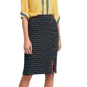 Maeve Anthropologie Hannon Textured Pencil Skirt